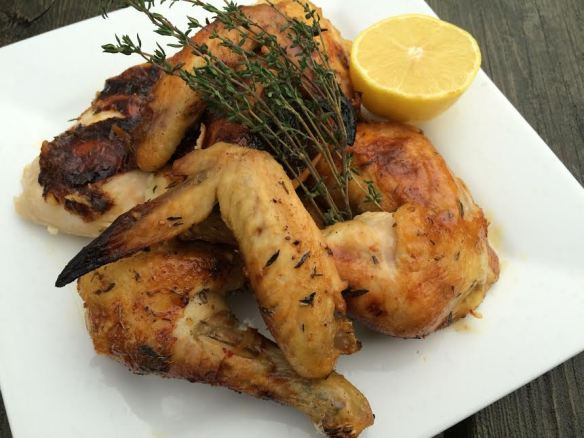 honey lemon thyme chicken